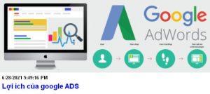Lợi ích của google adwords