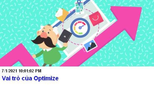 Vai trò của Optimize trong SEO